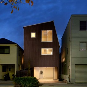 狛江のガレージハウス