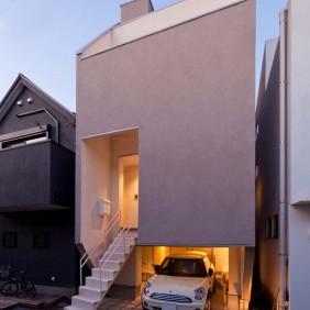 府中の狭小住宅